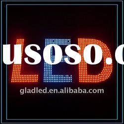 LED Exposed String Light waterproof /single color or RGB decorative outdoor/customized signboard ad