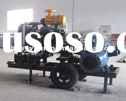 L Heavy mobile trailer diesel water pump for irrigation and river