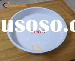 Large Tin Food Serving Tray