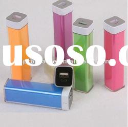 Lip Gloss Portable Power Bank for mobile devices 2500mAh