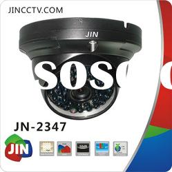 Low illumination SONY CCD ir waterproof security surveillance dome cctv camera JN-2347