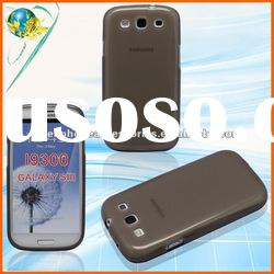 Matte Cell Phone Tpu Cases For Samsung Galaxy S3 i9300 Accessories