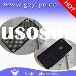 Mobile phone aluminum accessories mesh design for iphone case