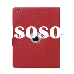 New Aluminum Keyboard Leather Case For iPad 2/3