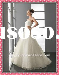 New Arrival Fashion Gorgeous Mermaid Lace Wedding Dress Bridal Dress 2012 AIW-126
