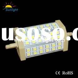 New Arrival!!!high quality 10w 118mm r7s led light bulb ac85-265v