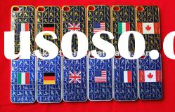 New! Flag Case for iPhone 4S metal phone cover for iphone 4S