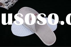 New design fashion disposable hotel slippers and reasonable price hotel slippers