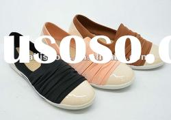 New fashion flat shoes ladies design for girls hot-sale