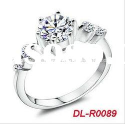 New hot shinning zircon diamond Wedding rings for women