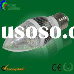 New led bulb led candle light bulb (QP35-3*1W )