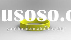 Newly Debossed Rubber Silicone Bracelets