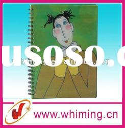 Notebook spiral notebook with cartoon printing