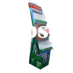 POS display stand ,paper display stand, floor display stand