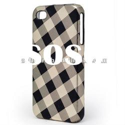 PU Leather Case For Cell Phone For iPhone4