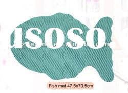 PVC foam non-slip bathroom floor mat/Fish mat/Bath mat