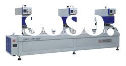 PVC window machine Three-head Seamless Welding Machine (Double Side)