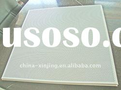 Perforated aluminum acoustic ceiling tile (ISO9001,CE)