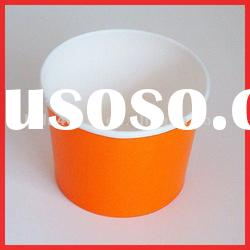 Plain Color Double PE Coated 12oz Paper Ice cream cup
