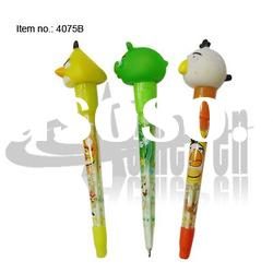 Plastic LED light ball pen with multifunction
