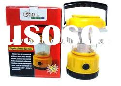 Plastic rechargeable LED cheap solar lantern for rural area