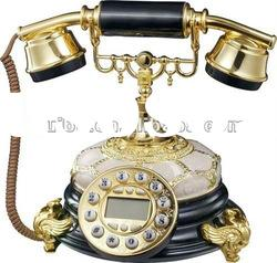 Poly Resin Art Decorative Antique Telephone for home/office/hotel