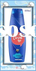 Popular 400ml plastic shampoo bottle, factory manufacturing for hair