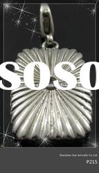 Pure 316l stainless steel pendant P215