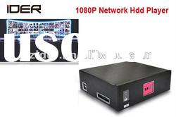 Q303 Shenzhen Full HD HDD media player support internet television