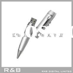 RNB's metal 8gb usb flash drive in pen shape
