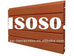 Red Decorative Exterior Wall Terracotta Panel