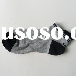 Shenzhen Socks Manufacturer With Logo Mesh Fishnet Sports Ankle Socks for Women Cotton Terry Cushion