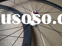 Shipping fast / 38mm clincher carbon wheelset 700c with 3k Glossy