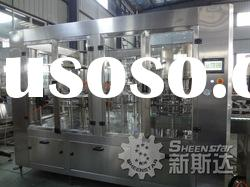 Sparkling juice bottle rinsing filling capping machine(ISO, CE approved)
