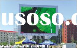 Square Place of P22 full color led outdoor big advertising display