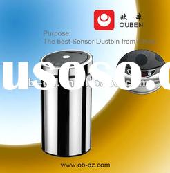 Stainless steel automatic sensor trash bin 50L