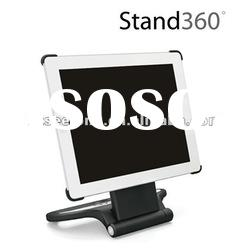 Stand 360 degree rotation swivel protective case for iPad 2