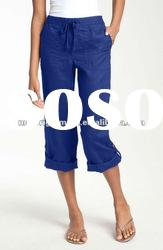 Summer color linen pants Women linen pants suit Linen pants plus size women