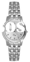 T-CLASSIC T97.1.181.32 QUARTZ LADIES WATCH Silver Dial Water Resistant Stainless steel