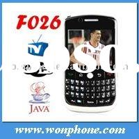 WIFI TV Qwerty Keyboard Dual Sim Cell Phone F026