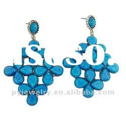 Wholesale Fashion Ladies Earring Designs Pictures 2012,Flower Shape Earring