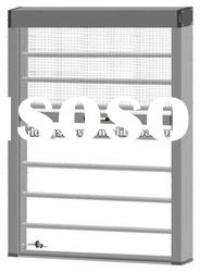 Windproof Fly Screen with Aluminum Window Grilles