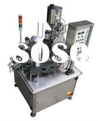 XBBH-95-1 Single lane Rotary cup filling and sealing machine