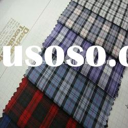 YARN DYED FABRIC/CHECK FOR MEN'S SHIRT