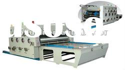 YFQ High Speed Multi-color Printing and Slotting Machine