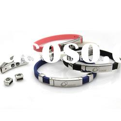 adjustable power silicone wristband with customized design