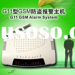 burglar Alarm System with Wireless Emergency Function and Password Protection