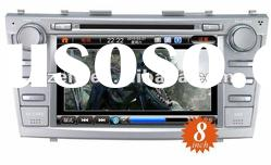 car DVD player with 8 inch touch screen bluetooth GPS Special TOYOTA Camry