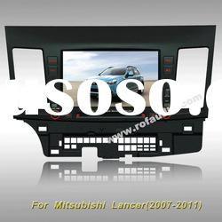 car dvd player with gps ipod rds 8v-cdc For Mitsubishi Lancer (2007-2011)