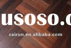 carbonized herrignbone oak solid wood flooring